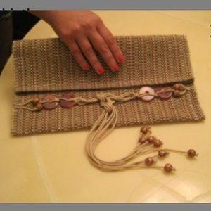Handbags - Handmade tribal clutch